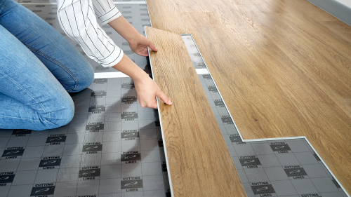 Six deadly sins when laying vinyl planks
